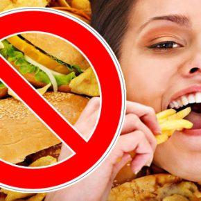 zararlı yiyecek