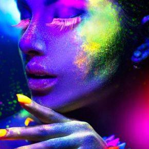 neon-makeup